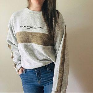 Vintage San Francisco Gray Sweatshirt